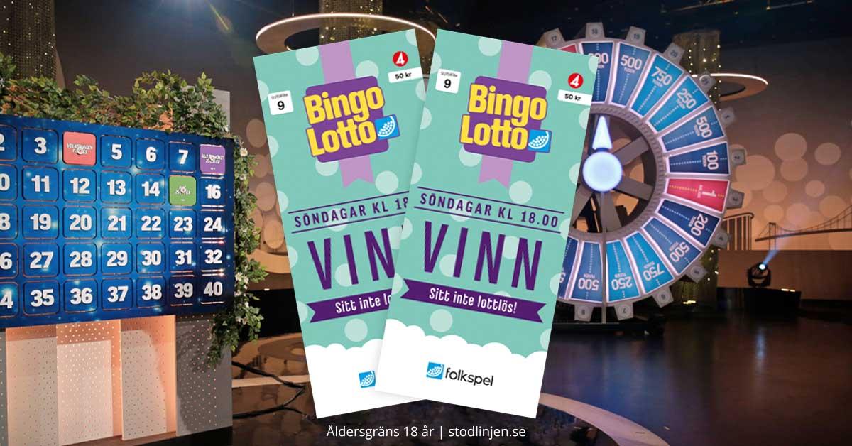 Köp dina digitala bingolotter här | BingoLotto
